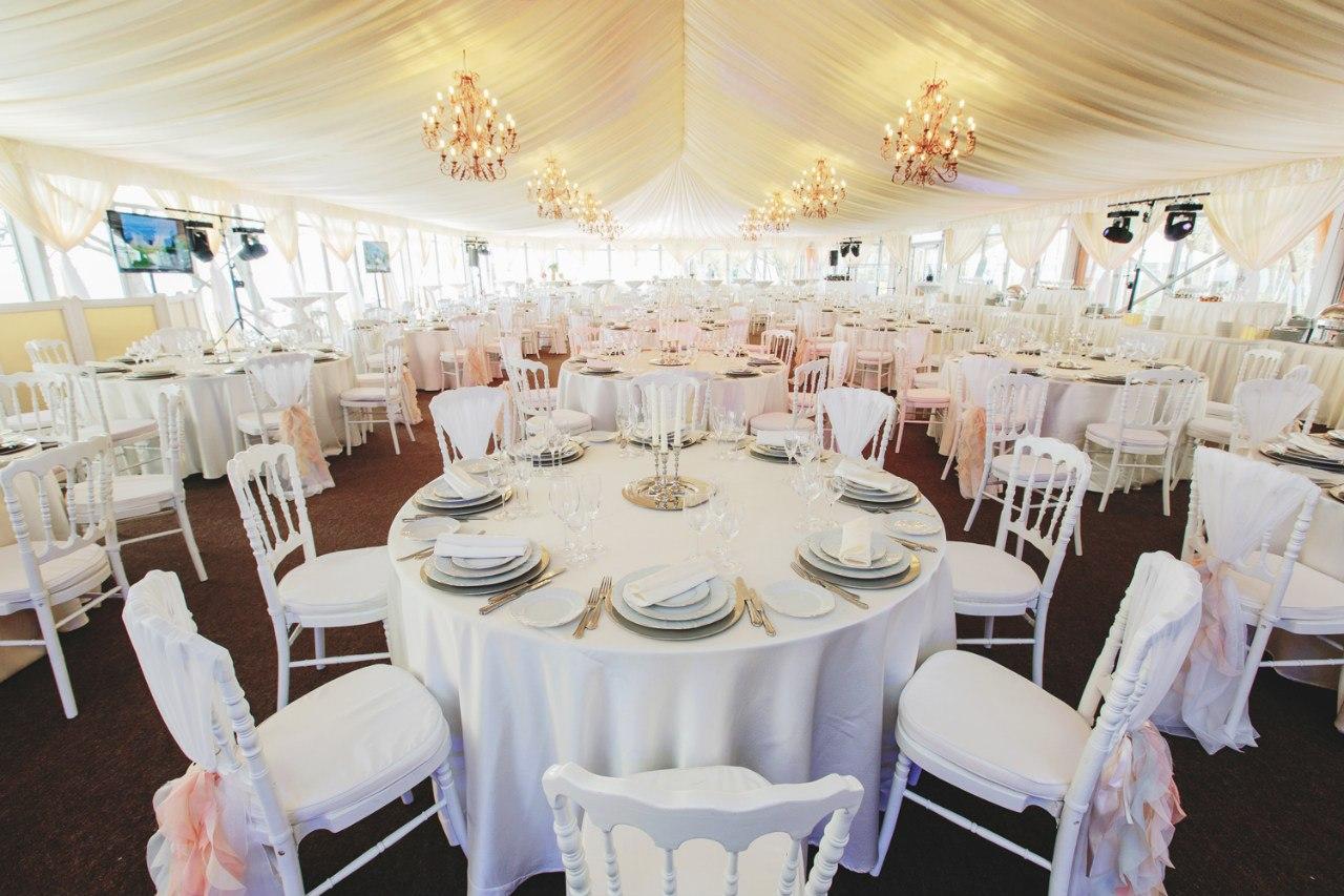 свадьба в шатре петербург