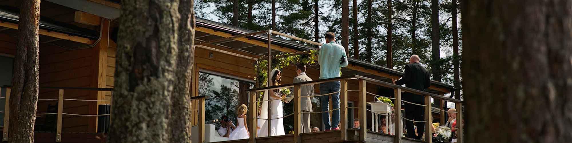 свадьба в коттедже снять