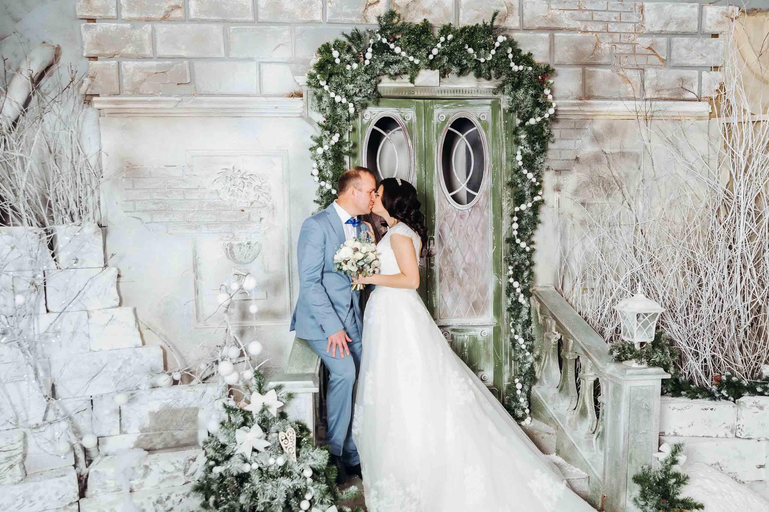 Свадебные украшения на короткие волосы фото