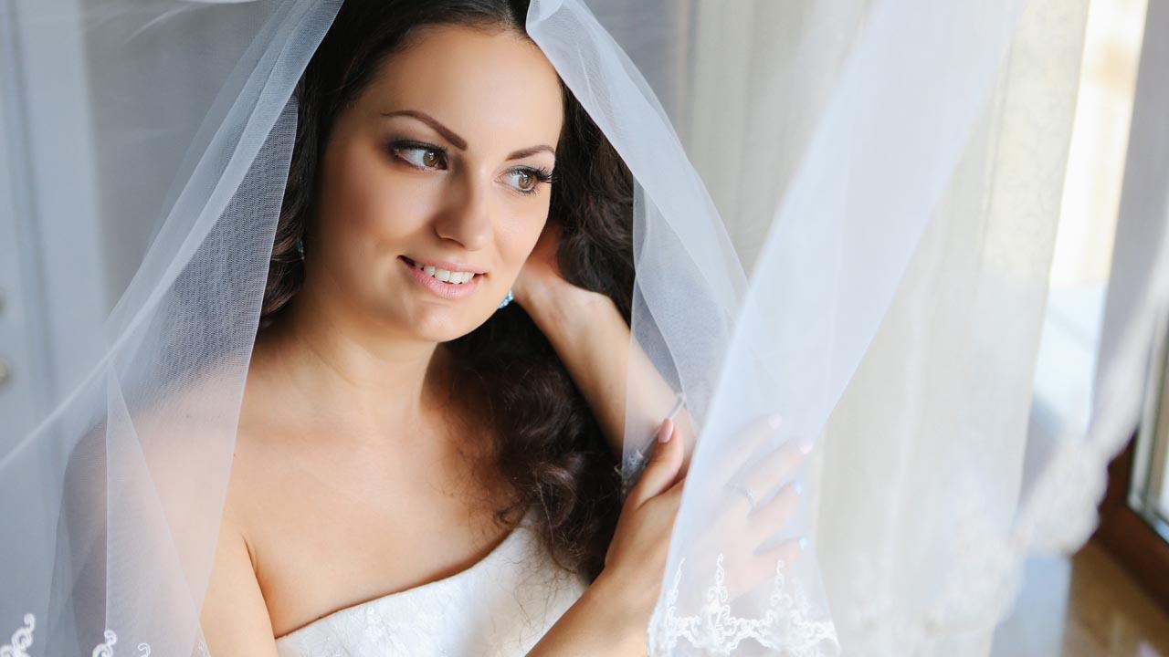свадебный макияж спб