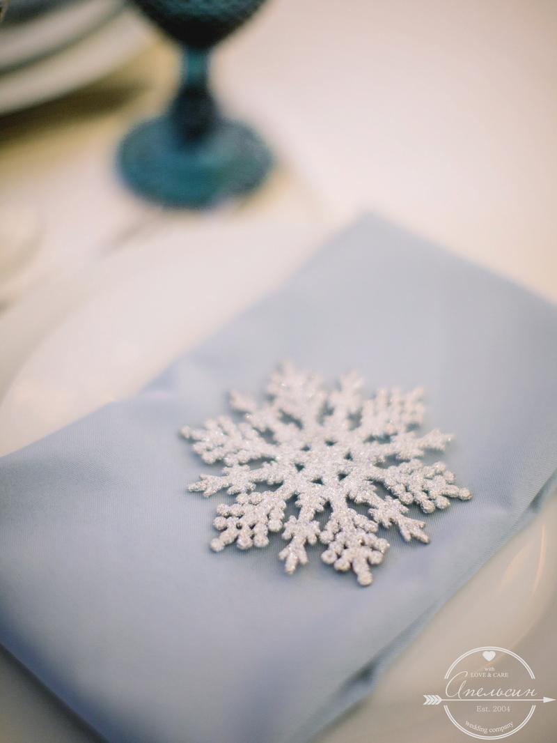 идеи зимней свадьбы