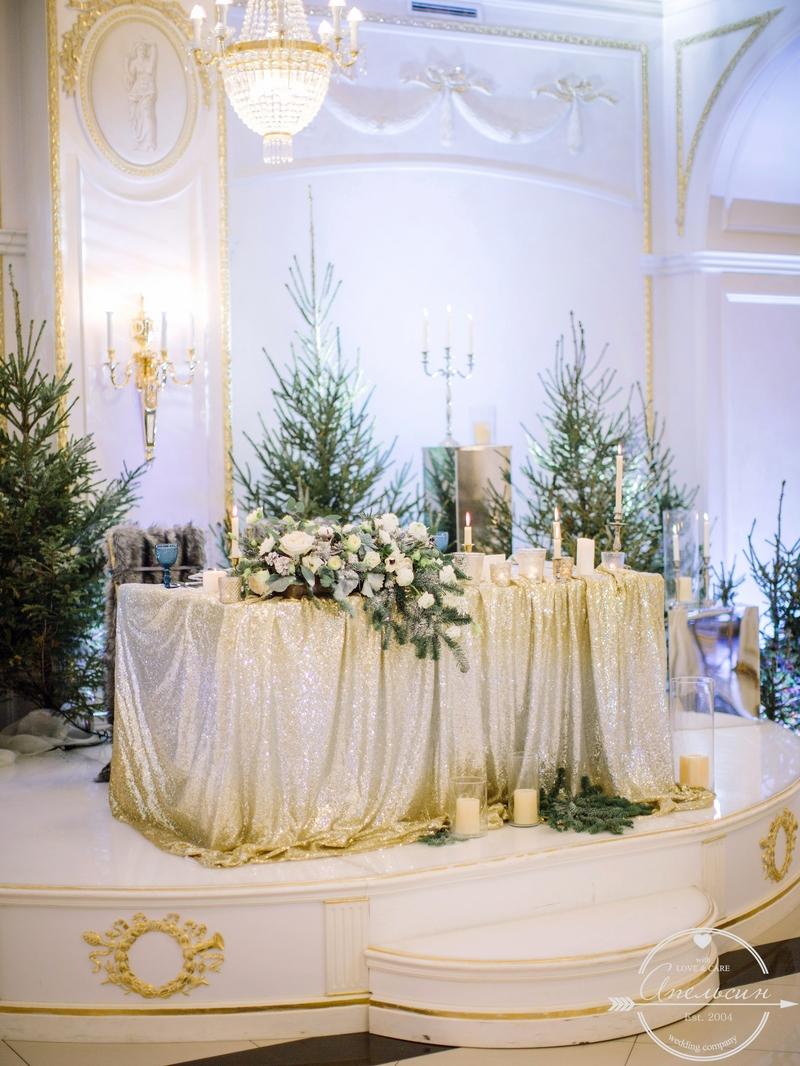 свадьба зимняя питер