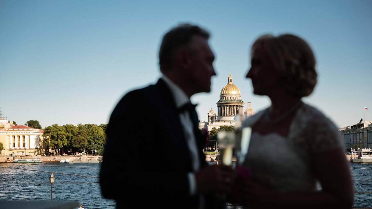 свадьба для двоих иногородних в питере