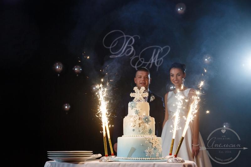 зимняя свадьба в талеоне